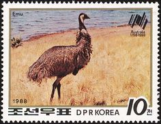 Emu stamps - mainly images - gallery format