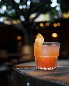 1½ oz. blanco tequila ½ oz. Aperol ½ oz. elderflower liqueur ¾ oz. fresh lemon juice 2 dashes Angostura bitters