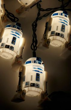R2D2 party lights for indoors or outdoors