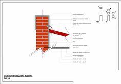 Detalles Constructivos Submuracion con supresion Construcciones Castellano 1 | Aprender Autocad / Revit / Photoshop / Excel Gratis! Architecture Details, Modern Architecture, Autocad Gratis, Line Chart, Bar Chart, Reinforced Concrete, Cool Designs, Construction, Photoshop