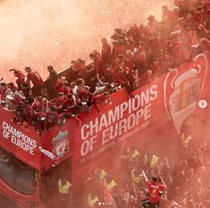 Liverpool fc parade champions league winners 2019 salah banishes demons of 2018 with goal in champions league final Liverpool Fc Badge, Liverpool Fc Gifts, Liverpool Fc Champions League, Liverpool Players, Liverpool Fans, Liverpool Football Club, Gerrard Liverpool, Liverpool Anfield, Soccer