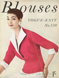 1950s blouse...usually were short or 3/4 sleeved.