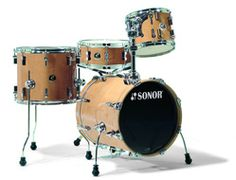My Sonor Safari Jazz Kit....a small kit with a big sound! (photo courtesy of Chicago Music Exchange)