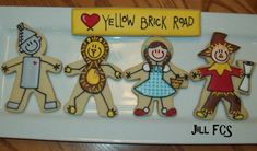Wizard of Oz Cookies by Jill FCS