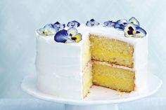 Triple-Lemon Layer Cake