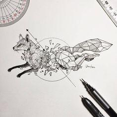Geometric Beasts | Bored Panda