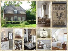 B & B... Collage at Home on Facebook by Thea Veerman