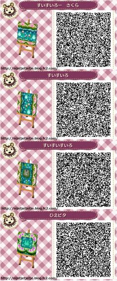 animal crossing qr codes paths pathways Animal Crossing: New Leaf amp; HHD QR Code Paths Animal Crossing: New Leaf amp; Qr Code Animal Crossing, Animal Crossing Qr Codes Clothes, Acnl Pfade, Acnl Qr Code Sol, Flag Code, Acnl Paths, Wooden Path, Theme Nature, Leaf Animals