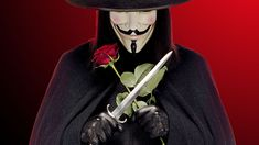 Hot V for Vendetta Mask Guy Fawkes Anonymous Halloween Masks Fancy Dress Costume for sale online V Pour Vendetta, V For Vendetta Mask, Scarlett O'hara, Jason Todd, Wolverine, V For Vendetta Wallpapers, Guy Henry, Explain A Film Plot Badly, Deadpool