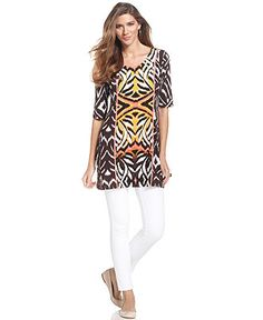 tunic and ankle pant