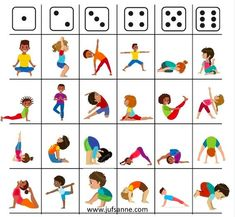 Creative Activities For Kids, Gross Motor Activities, Gross Motor Skills, Book Activities, Yoga For Kids, Exercise For Kids, Theme Sport, Family Yoga, Simple Embroidery