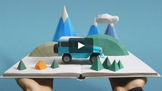 Toyota brand film for the Paris motor show. Shot in 1 week Head of Paper Craft - Mandy Smith Directed by - Sumo Science Production Company - BlinkInk Advertising…