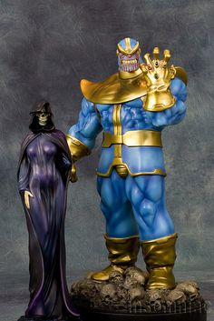 Thanos & Mistress Death