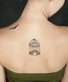 Unique Tattoos For Women - Tattoo Designs Piercing Body Art 1000 Tattoos, Cage Tattoos, Bild Tattoos, Body Art Tattoos, Tatoos, Unique Tattoos, Beautiful Tattoos, Small Tattoos, Pretty Tattoos
