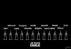 In memoria - All Name  #JeSuisCharlie #CharlieHebdo