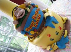 My kids LOVED Curious George - such a perfect interpretation - from Bellaman Desserts! Curious George Cakes, Curious George Party, Curious George Birthday, 2nd Birthday Parties, Boy Birthday, Birthday Cake, Birthday Ideas, Cupcake Cakes, Kid Cakes