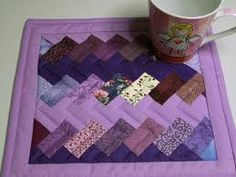 mug rug patterns - Google Search
