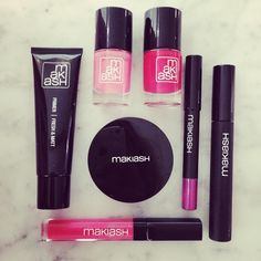 Newest addition to our showroom: MAKIASH  New Swedish high-quality makeup brand based on the experience of models.