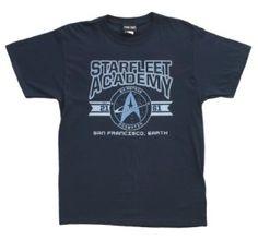 Cadet Athletic Insignia -- Starfleet Academy -- Star Trek Adult T-Shirt Star Trek Shirt, Nerd Merch, Starfleet Academy, Branded T Shirts, Fashion Brands, Athletic, Mens Tops, Clothes, Fans