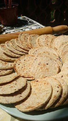 Vegspiration - Blog de inspiración vegana: Crackers o galletas saladas de avena (receta sin horno)