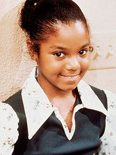 Actress Janet Jackson as Penny on Good Times