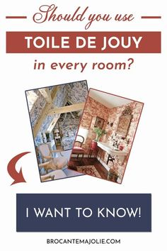 Should you use Toile de Jouy in every room of your French country home? Here's everything you need to know to use it the right way!
