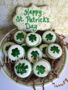 Shamrock minis by Frosted