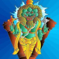 Dashavatar or dashavatara refers to the ten avatars of Lord Vishnu to restore the eradicate evil from earth and to restore the Dharma. Krishna Art, Hare Krishna, Happy Birthday Wishes Quotes, Tanjore Painting, Indian Folk Art, Lord Vishnu, Mural Painting, Collage Art, Avatar