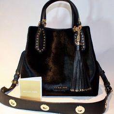 Items for sale by ivans_shop_source Blue Michael Kors Purse, Michael Kors Backpack, Handbags Michael Kors, Designer Purses And Handbags, Purses And Bags, Tote Purse, Brooklyn, Satchel, Shoulder Bag