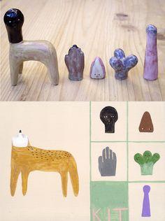 MIJU LEE mijulee: centaur's Kit. 2012