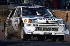 Peugeot 205 T16 Evo 2 rally car