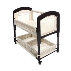 Amazon.com : Arm's Reach Concepts Cambria Co-Sleeper Bassinet, Natural : Baby Bassinets : Baby