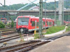 VT 650 313 - RegioShuttle RS1 - der DB Regio am 15.06.2010 abgestellt im Hauptbahnhof.