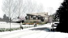 The young architecture firm of SM-arch has recently won a architectural competition for their Multigenerational building proposal in Gland,