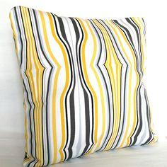 Black White And Yellow Decorative Pillows : Pillow on Pinterest Black Pillows, Decorative Throw Pillows and Decorative Pillow Covers