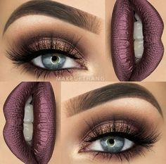 Eye Makeup Tips.Smokey Eye Makeup Tips - For a Catchy and Impressive Look Make Up Looks, Thanksgiving Makeup Looks, Makeup Tips, Hair Makeup, Makeup Ideas, Makeup Goals, Makeup Inspo, Buy Makeup, Makeup Lessons