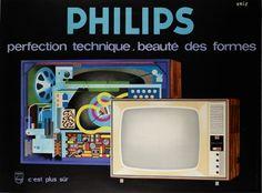 Philips ~ Eric (Raoul Eric Castel) | #Appliances #Television #Philips