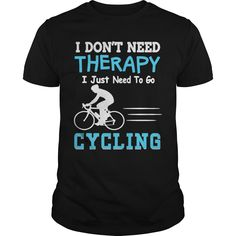 Cycling therapy cool design - Tshirt