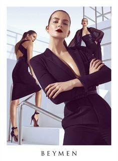 fashion ads 2014 | 2014 campaign3 Eniko Mihalik Gets Glam for Beymen Spring 2014 Ads ...