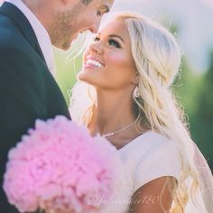 Pretty wedding photo.