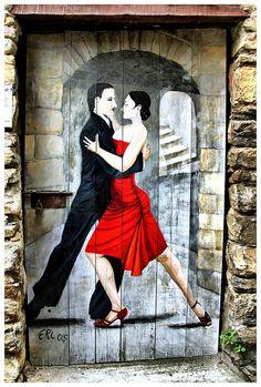 Les danseurs de tango | Flickr - Jean Luke Bastin