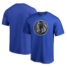 Dallas Mavericks Fanatics Branded Static Logo Big and Tall T-Shirt - Blue