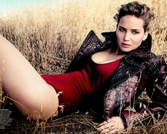 Jennifer Lawrence in September Vogue. Total girl crush!