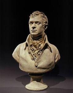 Jean-Antoine Houdon, Bust of Robert Fulton