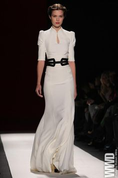 Herrera always gets it right. NYFW --pinfashionblog