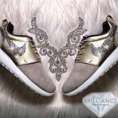 Diamonds and Champagne Roshe One Premium Shoes DIAMONDS AND CHAMPAGNE LIMITED EDITION ROSHE ONE PREMIUM SUEDE RUNNING SHOE EXCLUSIVELY AT BRILLIANCE SUPPLY CO.! Be Bold. Be Brilliant. Shop Brilliance Supply Co. *Find the official Brilliance Supply Co. shop on Etsy! www.brilliancesupplyco.etsy.com Nike Shoes Athletic Shoes