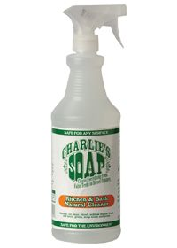 CharlieS Soap Kitchen/Bath Natural Cleaner by Charlies Soap - Buy CharlieS Soap Kitchen/Bath Natural Cleaner 32 Liquid at the Vitamin Shoppe #kitchen #essentials #healthykitchen #shopping #vitaminshoppe