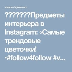 ⠀⠀⠀⠀⠀⠀⠀Предметы интерьера в Instagram: «Самые трендовые цветочки! •#follow4follow #vscospb #handmade #upcycling #cargocult #spb#loft #design» • Instagram