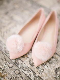 LC Lauren Conrad Pom Pom Ballet Flats