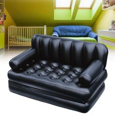 Outdoor Furniture Inflatable Garden Sofa Lounge Blow Up Double Air Bed Multifunction Couch Camping Mattress Airbed for 2 People Camping Mattress, Bed Mattress, 20 Person Tent, Types Of Sofas, Garden Sofa, Lounge Sofa, Chesterfield Chair, Interior Exterior, Double Beds